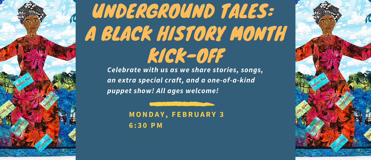 Black History Kick-Off Web Banner