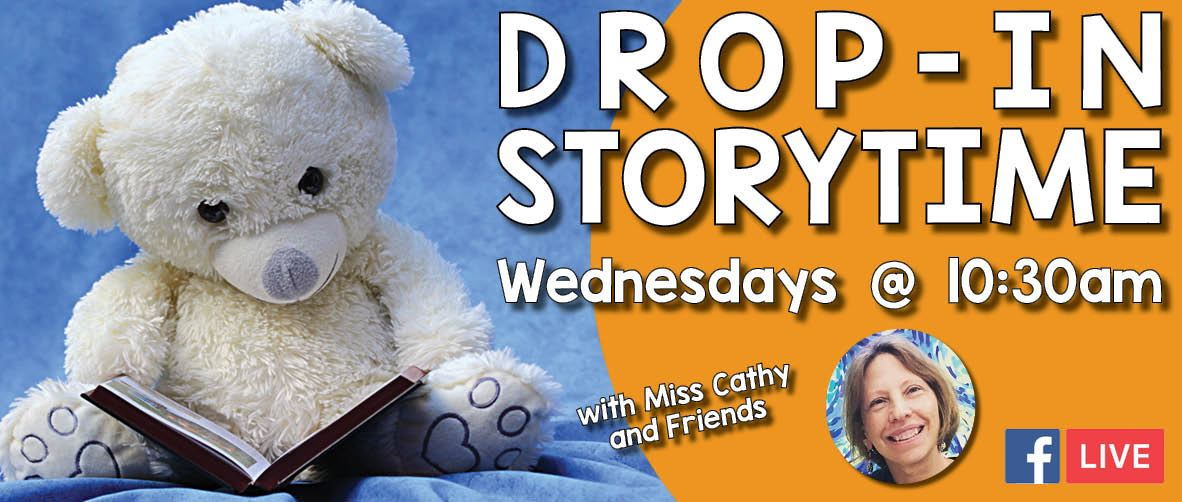 Drop-in Storytime Returns for the Fall