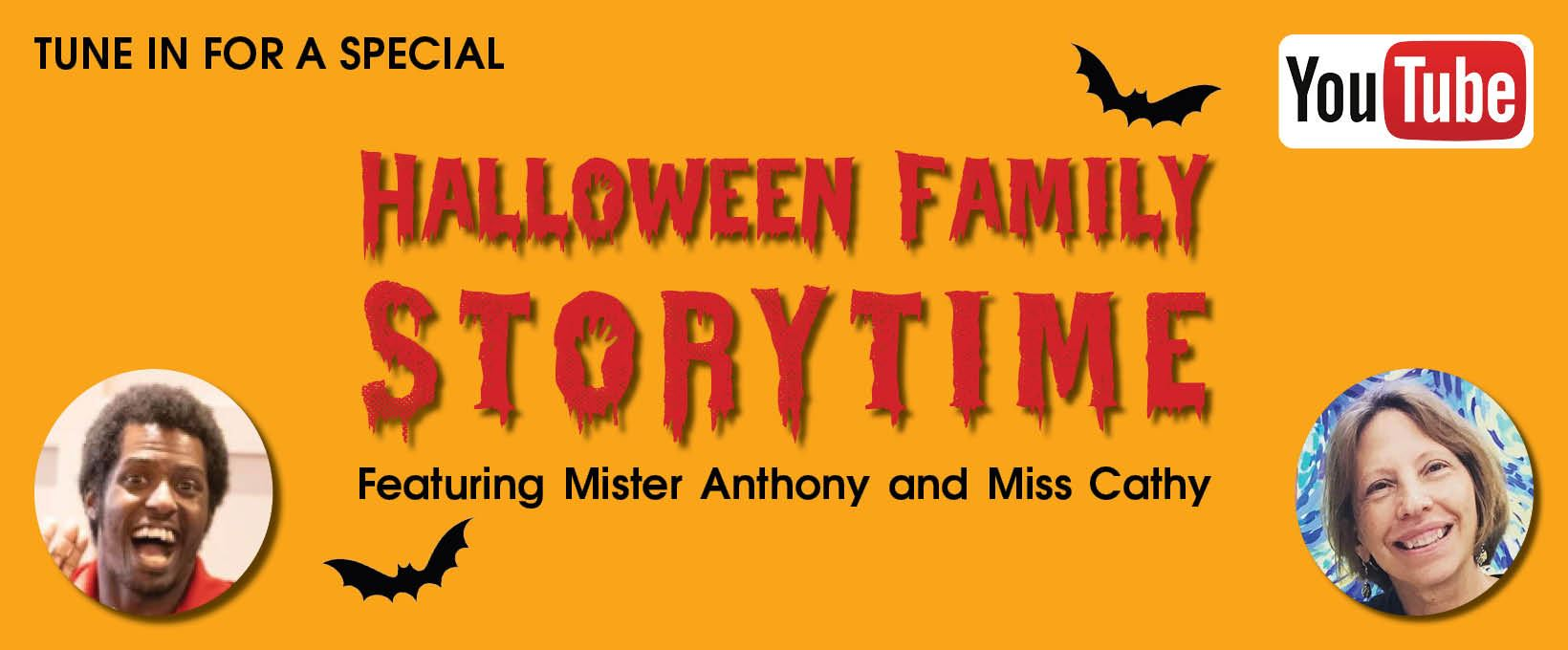 Celebrate Halloween with a Halloween Family Storytime!